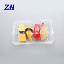 disposable plastic fresh meat and fruit packing tray for market and shop