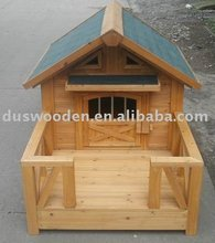 wooden dog room