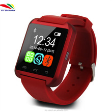 U8 Bluetooth Smart Watch Intelligent Wrist Watch Relojes Inteligente for Samsung Galaxy S3 S4 S5 HTC LG Motorola Android Phone