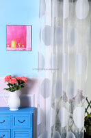 polyester material flexible curtain fabric door hanging security electric arab curtains