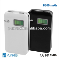 power bank 2013 8800MAH Portable External Battery Charger For iphone /ipad /mobile phone