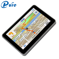 wholesale MediaTek 800Mhz auto gps navigator with touch screen,5 inch car gps navigator sd card free map