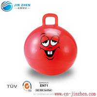 pvc jumping ball hoper ball bounce hopper pvc inflatable toys ball for kids