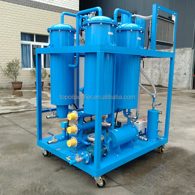 Turbine Oil Refining Machine, Lube Oil Recycling Plant for Emulsion Breaking and Impurities Removal