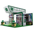 Detian Offer 20x20ft transformable modular aluminum exhibition booth with graphic