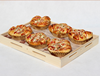 Pine wood Hot Selling Bread Display Trays wooden bread tray made in china