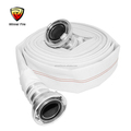 Fire fighting hose with Russian type fire hose coupling for Russian,Vietman market