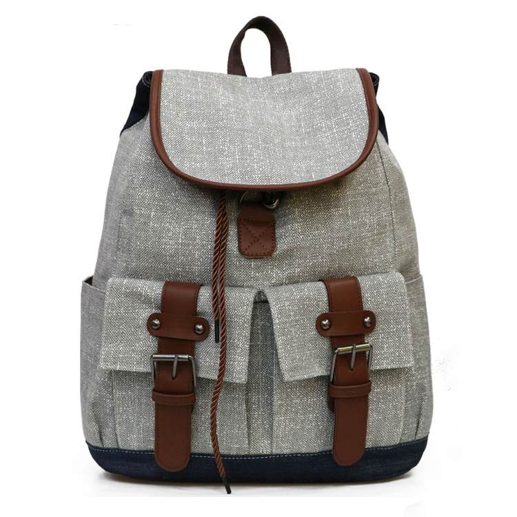 2019 Newly Design Waterproof Canvas Material Cheap <strong>Bag</strong> Factory Wholesale Online Travelling Backpack <strong>Bags</strong>