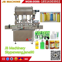 JB-JG4 Automatic Bottle Vegetable Oil/Cooking Oil Filling Machine