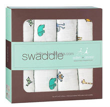 "Hot Sales Baby 100% Cotton Aden Anais Classic Muslin Swaddle Blanket 47x47"" After Washed"