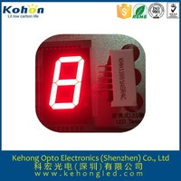 "2.3"" inch 1 Digit 7 Seven Segment blue Light LED Numeric Digital Display,Common Cathode"
