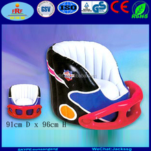 New Design PVC Inflatable Helmet Chair for Promotion