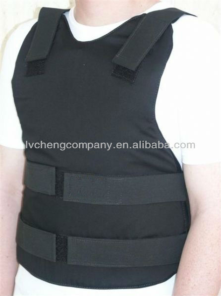 Tactical Concealable Bullet Proof Vest w/ Side Protection-3A