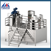 FULUKE dairy/cosmetic/chemical/cream mixing emulsifying tank machine