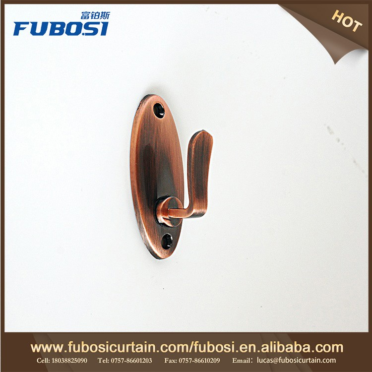 China Wholesale High Quality accessories curtain and bronze wall curtain hook