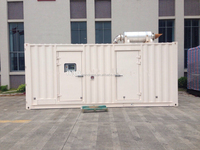 [GRANDNESS] TM1100 Silent 20ft container diesel generator set Powered by Japan Mitsubishi generator 1000 kva