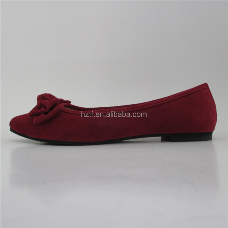 New design fashion women flat lady comfort shoes