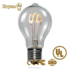 A60 Edison Vintage Soft Filament LED Bulb AC 85-265V pottery barn lamp