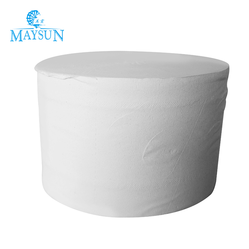 Factory In China Zhong shan 12 Rolls 2 Ply Wrapped Virgin Bamboo Pulp White Toilet Tissue Paper
