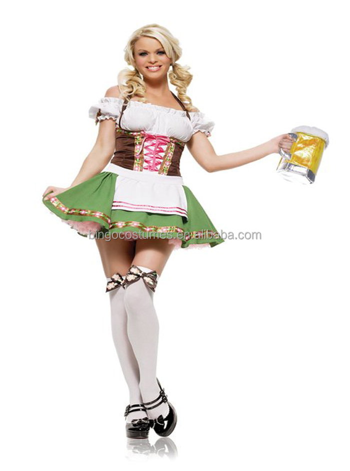 2016 hot sale Sexy beer maid costume Sexy Costumes