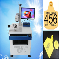 High speed ear tag printer laser machine machine for sale with ce from Dongguan Taiyi brand
