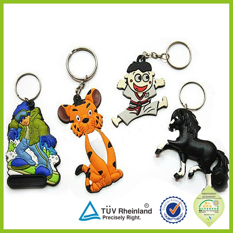 Custome Design beaded animal keychain patterns