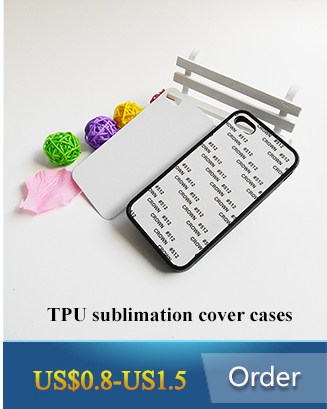 High quality DIY customized blank cellphone case for iPhone 6/6s/7/7plus with metal insert sublimation case