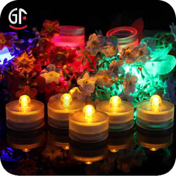 Shenzhen Decorative Materials Direct Factory Under Water Submersible Led Tea Lights