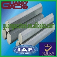 Chinese well-reputed manufacturer barra hexagonal de acero inoxidable affordable price