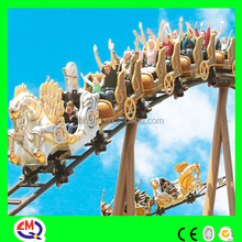 Attraction park rides BV TUV approved theme park flying horse