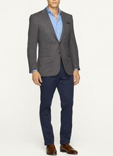 Mens Herringbone Sport Coat/Blazer