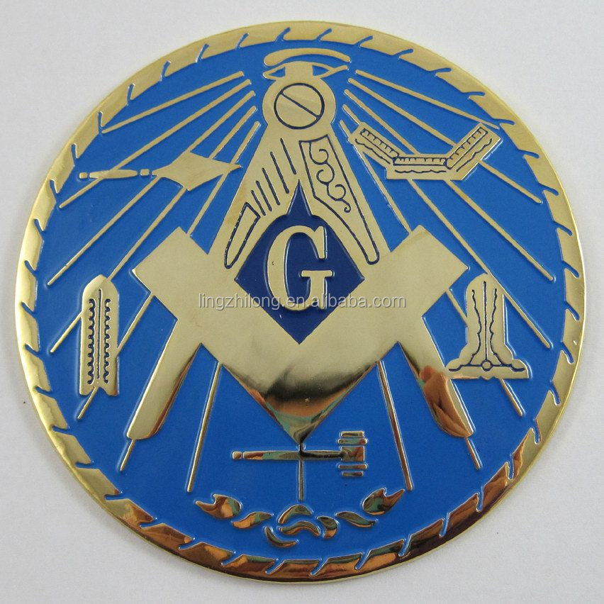 wholesale masonic items masonic car emblem car badge