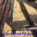 Underground Building Petrol Station EN 14125 Standard 75mm 63mm HDPE Petroleum Pipes