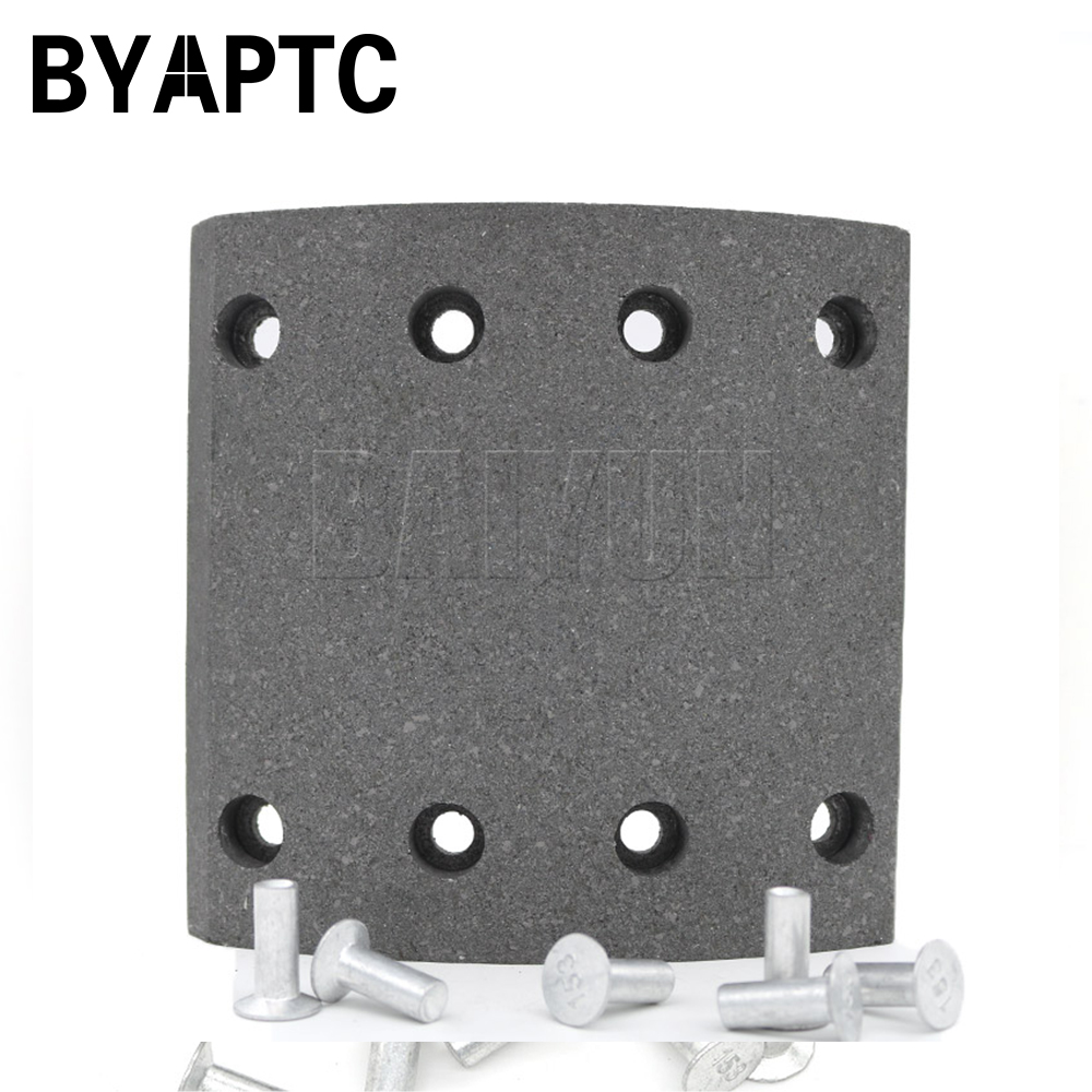 Bus Brake Lining Auto Spare Parts WVA3552 00517 Yutong Kinglong