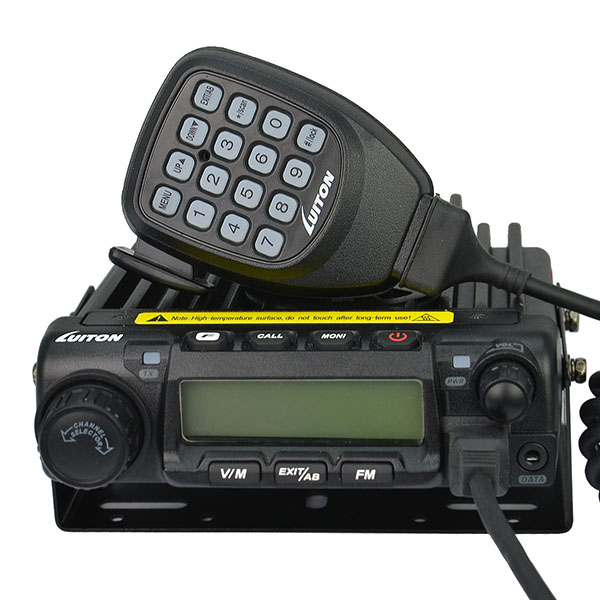 hot sale 65w vhf uhf mobile radio walkie talkie 30km range
