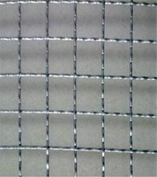 Galvanized 304 316 Stainless Steel Crimped Wire Mesh Heavy Duty Wire Mesh