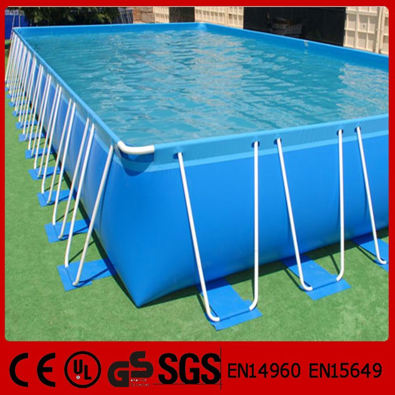 Above ground rectangular outdoor rubber swimming pool buy outdoor rubber swimming pool outdoor for Rectangular above ground swimming pools for sale