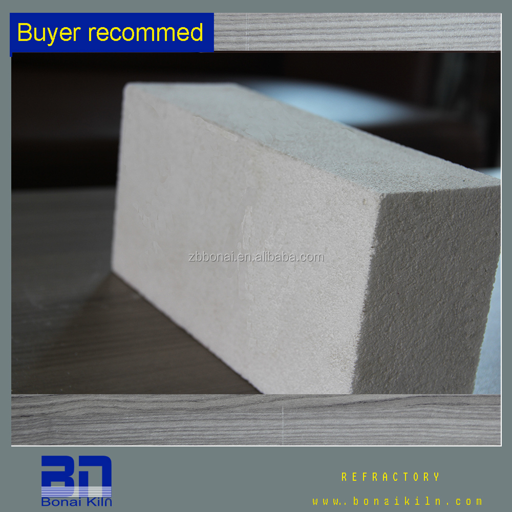 White high alumina bubble insulation brick