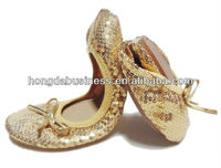 2013 latest foldable ballet shoes stock