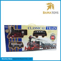 Cheap bulk sound and lights train model toy train
