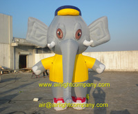 2015 new designed colorful inflatable elephant big elephant balloons cartoon characters