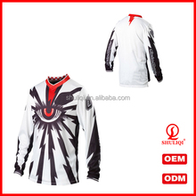 Custom motorcycle jersey sublimation print made in China