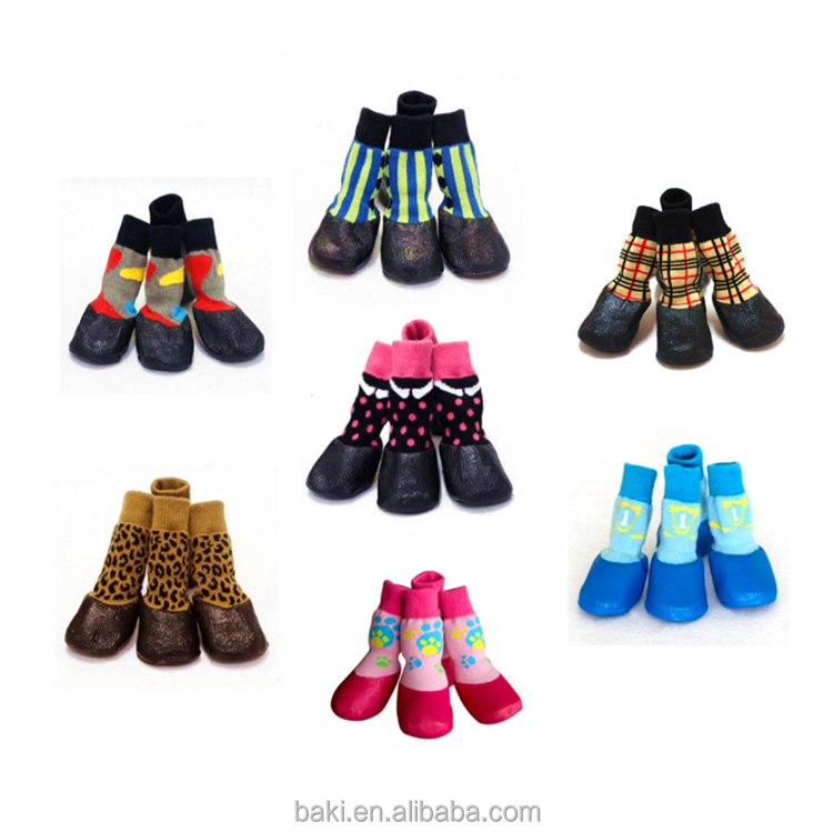 Hot Sale All Weather Waterproof Pet Shoes Outdoor Dog Socks
