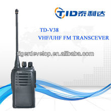 TD-V38 handheld two way radio walkie talkie equipment for umpire
