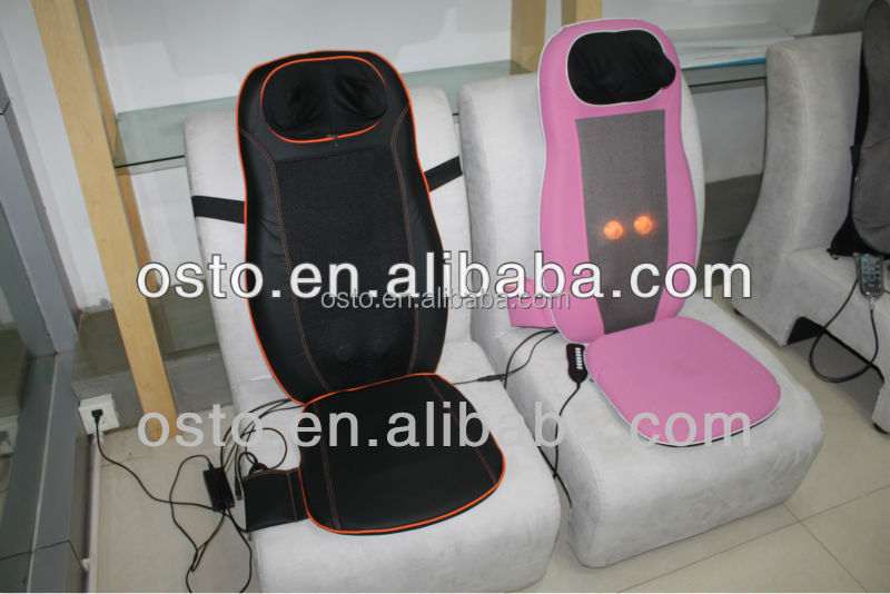 New swith controlling system backrest kneading massager AST-001 with CE RoHS