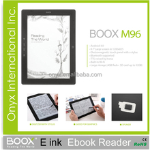 fashional e-book reader 9.7 inch electromagnetic touch with stylus