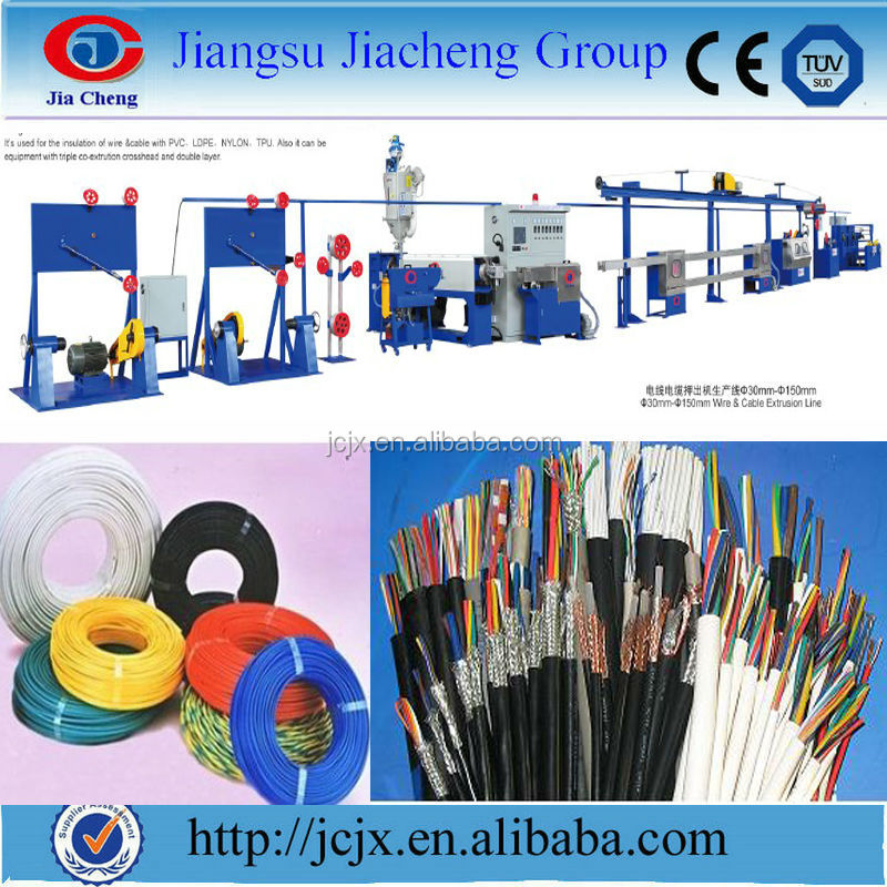 cable extrusion production line