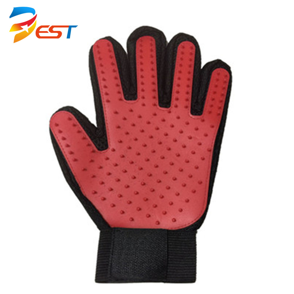 cheap price widely used pet grooming glove brush