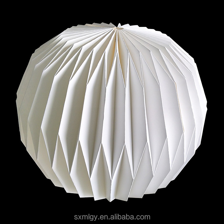 Simple Style Origami Paper Lampshade Wholesale