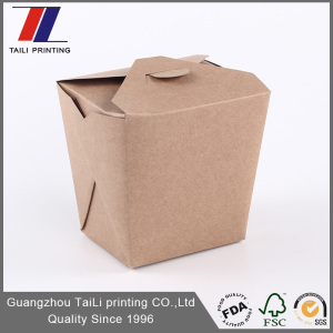 Custom printed noodle boxes/paper chinese noodle box design